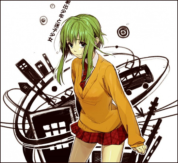 Tags: Anime, Kawai Makoto, VOCALOID, GUMI, Star Girl and the Illusory Musical Paradise, A Runaway Boy and a Lost Girl