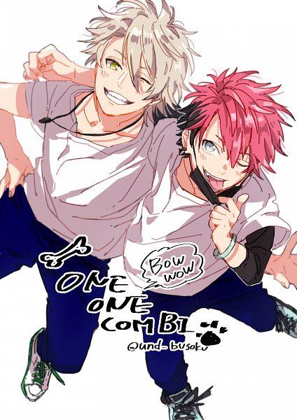 Tags: Anime, Pixiv Id 6057850, A3!, Miyoshi Kazunari, Nanao Taichi, Medical Mask
