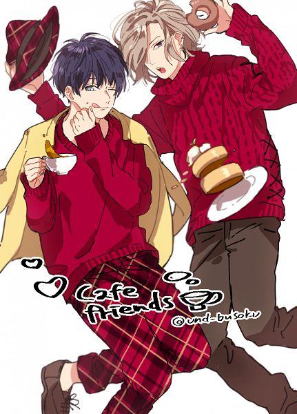 Tags: Anime, Pixiv Id 6057850, A3!, Settsu Banri, Tsukioka Tsumugi
