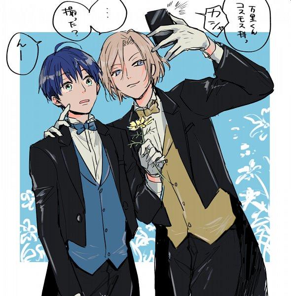 Tags: Anime, Moss (kokeoff), A3!, Settsu Banri, Tsukioka Tsumugi