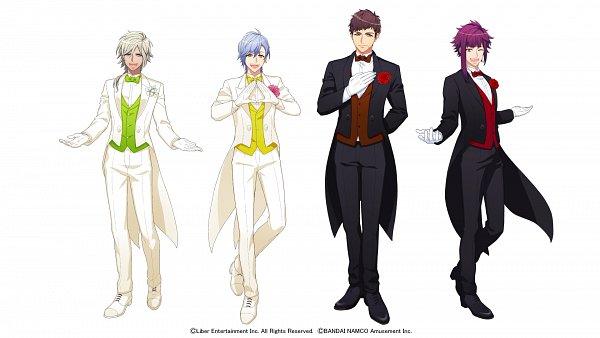Tags: Anime, Fujiwara Ryo, LIBER ENTERTAINMENT, A3!, Fushimi Omi, Ikaruga Misumi, Arisugawa Homare, Citron (A3!), Jagged, Official Art