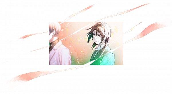 Tags: Anime, Fujiwara Ryo, LIBER ENTERTAINMENT, A3!, Hinamori Kasumi, Otomiya Syu, Official Art