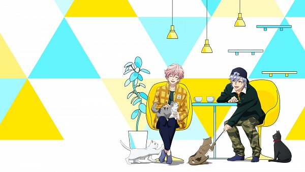 Tags: Anime, A3!, Sakisaka Muku, Ikaruga Misumi, Screenshot, Summer Troupe