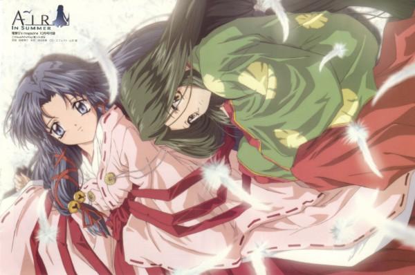 Tags: Anime, Takahashi Hiroyuki, Kyoto Animation, KEY (Studio), AIR, Uraha, Kannabi no Mikoto, Junihitoe, Official Art