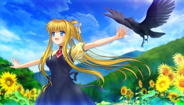 Tags: Anime, Moonknives, AIR, Kamio Misuzu, Sora (AIR), Wallpaper, Pixiv, Fanart