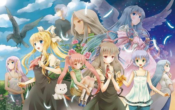 Tags: Anime, Michii Yuuki, KEY (Studio), AIR, Kamio Haruko, Kirishima Kano, Kirishima Hijiri, Kunisaki Yukito, Tohno Minagi, Potato (AIR), Kannabi no Mikoto, Michiru (AIR), Sora (AIR)