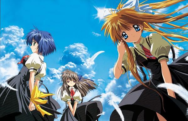 Tags: Anime, KEY (Studio), Kyoto Animation, AIR, Tohno Minagi, Kirishima Kano, Official Art, Wallpaper