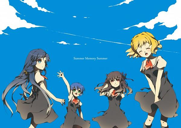 Tags: Anime, Touon, KEY (Studio), AIR, Tohno Minagi, Kannabi no Mikoto, Kirishima Kano, Kamio Misuzu, Pixiv, Fanart