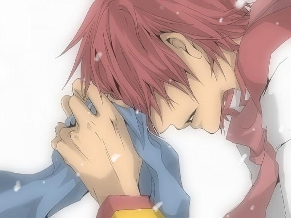 Tags: Anime, Karasu (Pixiv1592003), VOCALOID, AKAITO, Soundless Voice, Fanart