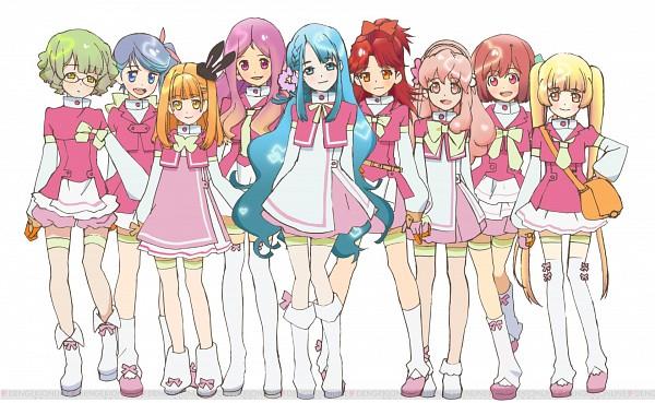 Tags: Anime, Ebata Risa, AKB0048, Kishida Mimori, Aida Orine, Kanzaki Suzuko, Ichijou Yuuka, Makoto Yokomizo, Motomiya Nagisa, Shinonome Kanata, Sono Chieri, Shinonome Sonata, AKB48