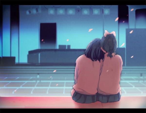 Tags: Anime, Yui (Rogusouku), Maeda Atsuko, Takahashi Minami, Stage, Fanart, Fanart From Pixiv, Pixiv, AKB48