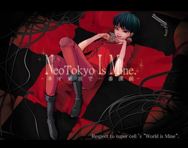 Tags: Anime, Pixiv Id 202238, AKIRA (Manga), Shoutarou Kaneda