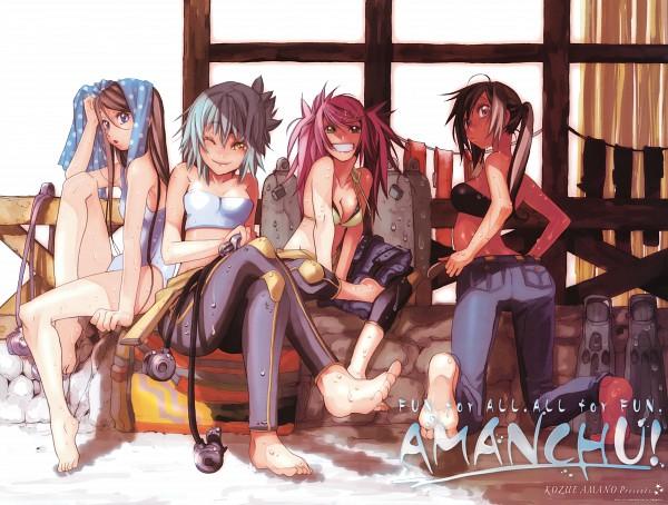 Tags: Anime, Amano Kozue, AMANCHU!, Ninomiya Ai, Ooki Futaba, Kohinata Hikari, Katori Mato