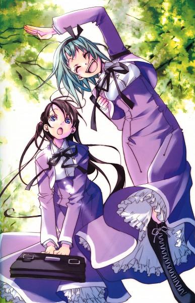 Tags: Anime, AMANCHU!, Kohinata Hikari, Ooki Futaba