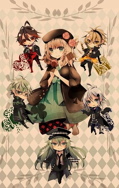 Tags: Anime, Arumayui, AMNESIA, Ukyo (AMNESIA), Shin (AMNESIA), Heroine (AMNESIA), Toma (AMNESIA), Kent (AMNESIA), Ikki (AMNESIA), Pixiv, Mobile Wallpaper, Fanart