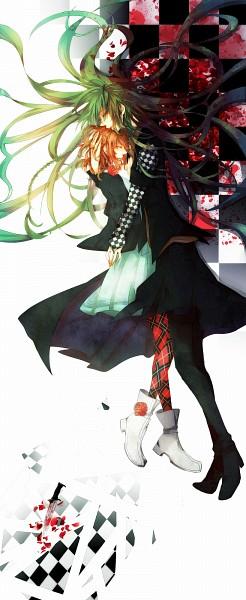 Tags: Anime, Pixiv Id 3348223, AMNESIA, Ukyo (AMNESIA), Heroine (AMNESIA), Pixiv, Fanart, Fanart From Pixiv