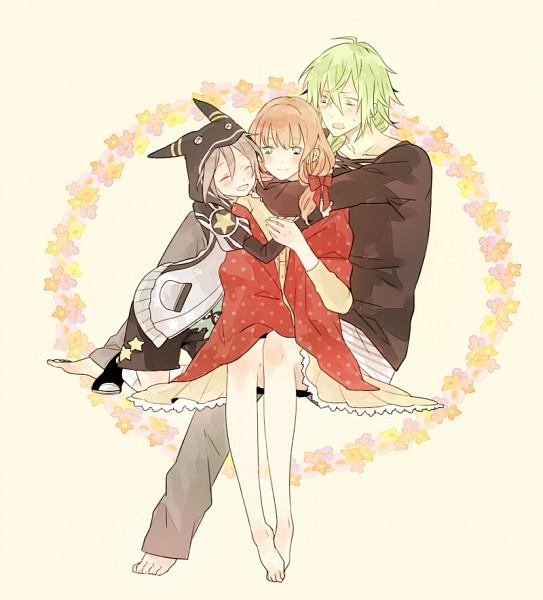 Tags: Anime, Pixiv Id 332680, AMNESIA, Ukyo (AMNESIA), Orion (AMNESIA), Heroine (AMNESIA), Fanart