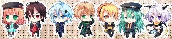 Tags: Anime, Narumiya Koneko, AMNESIA, Ukyo (AMNESIA), Ikki (AMNESIA), Orion (AMNESIA), Shin (AMNESIA), Heroine (AMNESIA), Toma (AMNESIA), Kent (AMNESIA), Joker, Spade (Card), Clubs (Card)