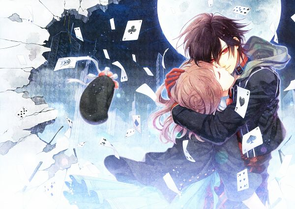 Tags: Anime, Hanamura Mai, IDEA FACTORY, AMNESIA, Shin (AMNESIA), Heroine (AMNESIA), Card Game, Scan, Official Art