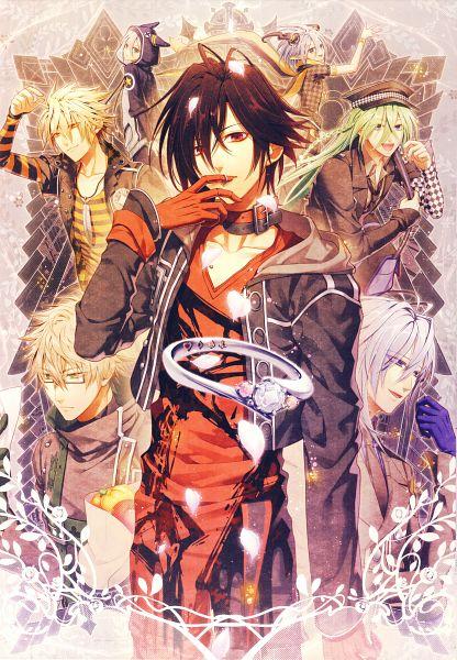 Tags: Anime, Hanamura Mai, Otomate, DESIGN FACTORY, AMNESIA, Orion (AMNESIA), Toma (AMNESIA), Kent (AMNESIA), Ikki (AMNESIA), Ukyo (AMNESIA), Shin (AMNESIA), Mobile Wallpaper, Official Art