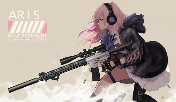 Tags: Anime, Pixiv Id 14742659, Girls Frontline, AR-15 (Girls Frontline), Assault Rifle, Pixiv, Fanart, Fanart From Pixiv