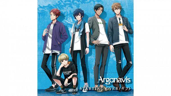 Tags: Anime, Bushiroad, Argonavis from BanG Dream!, Matoba Wataru, Goryou Yuuto, Nanahoshi Ren, Kikyou Rio, Shiroishi Banri, Official Art, ARGONAVIS