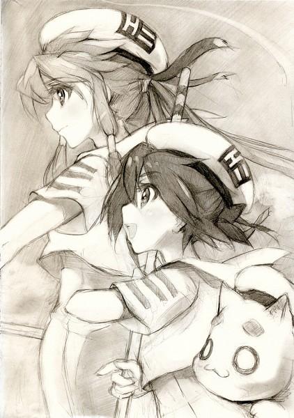 Tags: Anime, Kisetsu, ARIA (Series), Mizunashi Akari, Ai (ARIA), Aria Pokoteng