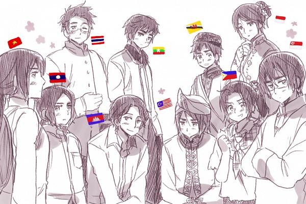 ASEAN - Axis Powers: Hetalia