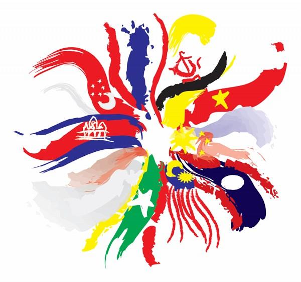 Tags: Anime, Cambodia, Brunei, Philippines, Singapore, Thailand, Malaysia, Vietnam, Myanmar, Indonesia, Laos, Fanart, ASEAN