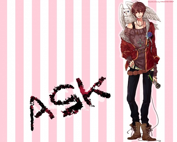 Tags: Anime, Harugano, ASK (Nico Nico Singer), Nico Nico Douga, Nico Nico Singer, Wallpaper
