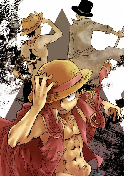 Tags: Anime, ONE PIECE, Monkey D. Luffy, Sabo, Portgas D. Ace, Mobile Wallpaper, ASL, Straw Hat Pirates