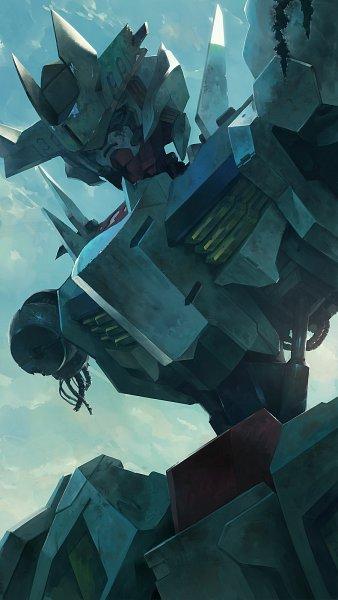 Tags: Anime, Bukimin, Kidou Senshi Gundam: Tekketsu no Orphans, ASW-G-08 Gundam Barbatos Lupus, Junk Pile