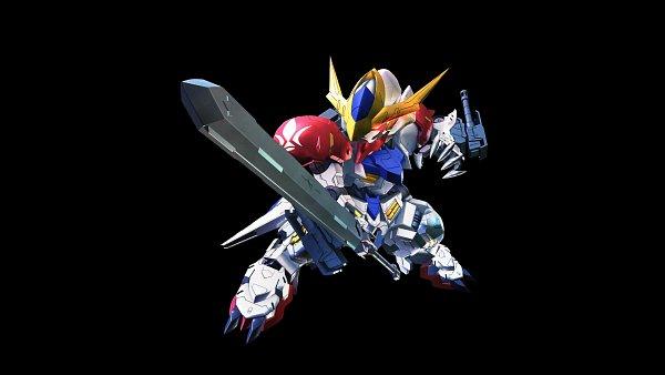 Tags: Anime, Bandai Namco Entertainment, Kidou Senshi Gundam: Tekketsu no Orphans, SD Gundam G Generation, ASW-G-08 Gundam Barbatos Lupus, ASW-G-08 Gundam Barbatos, Wallpaper, Gundams