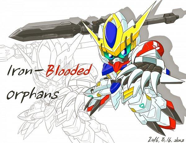 Tags: Anime, Pixiv Id 984114, Kidou Senshi Gundam: Tekketsu no Orphans, ASW-G-08 Gundam Barbatos Lupus, ASW-G-08 Gundam Barbatos, Pixiv, Fanart, Fanart From Pixiv, Gundams