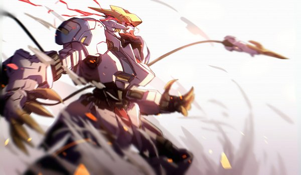 ASW-G-08 Gundam Barbatos Lupus Rex - Kidou Senshi Gundam: Tekketsu no Orphans