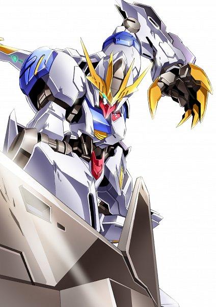 Tags: Anime, Kidou Senshi Gundam: Tekketsu no Orphans, ASW-G-08 Gundam Barbatos, ASW-G-08 Gundam Barbatos Lupus Rex, Fanart, Fanart From Pixiv, Pixiv, Gundams