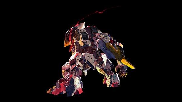 Tags: Anime, Bandai Namco Entertainment, Kidou Senshi Gundam: Tekketsu no Orphans, SD Gundam G Generation, ASW-G-08 Gundam Barbatos Lupus Rex, ASW-G-08 Gundam Barbatos, Wallpaper, Gundams