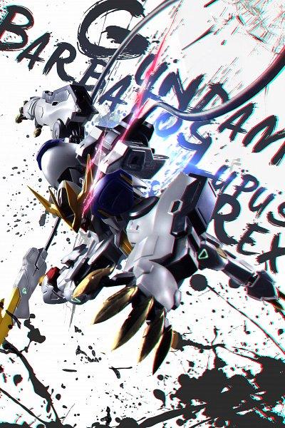 Tags: Anime, Pixiv Id 5513000, Kidou Senshi Gundam: Tekketsu no Orphans, ASW-G-08 Gundam Barbatos Lupus Rex, ASW-G-08 Gundam Barbatos, Pixiv, Fanart, Fanart From Pixiv, Gundams