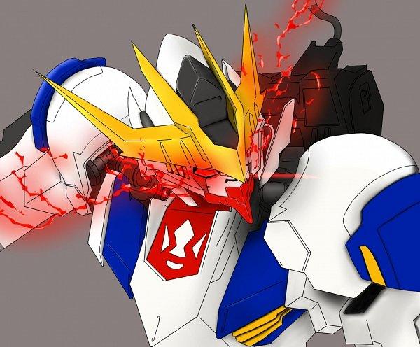 Tags: Anime, Pixiv Id 28135607, Kidou Senshi Gundam: Tekketsu no Orphans, ASW-G-08 Gundam Barbatos Lupus Rex, Fanart, Fanart From Pixiv, Pixiv, Gundams