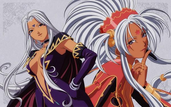 Tags: Anime, Fujishima Kousuke, Aah! Megami-sama, Urd, Hild, Daughter, HD Wallpaper, Fixed, Wallpaper, The Norn Sisters, Ah! My Goddess!