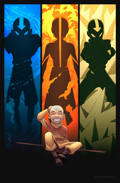 Tags: Anime, Avatar: The Last Airbender, Aang, Monk, deviantART, Mobile Wallpaper