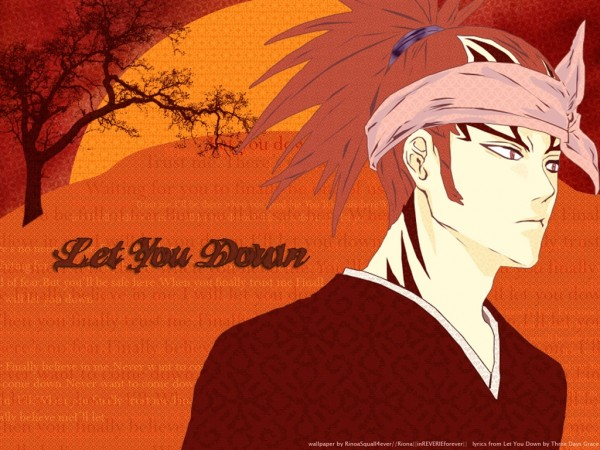 Tags: Anime, BLEACH, Abarai Renji, Wallpaper, Gotei 13
