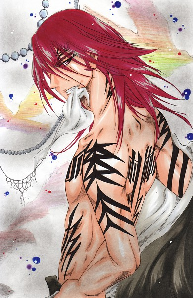 Tags: Anime, Pixiv Id 3288519, BLEACH, Abarai Renji, Mobile Wallpaper, Gotei 13
