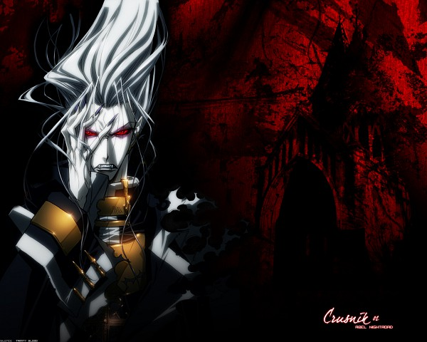 Tags: Anime, Trinity Blood, Abel Nightroad, Krusnik, Wallpaper