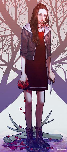 Tags: Anime, Pixiv Id 3134528, Hannibal (TV Series), Abigail Hobbs, Pixiv, Fanart, Fanart From Pixiv