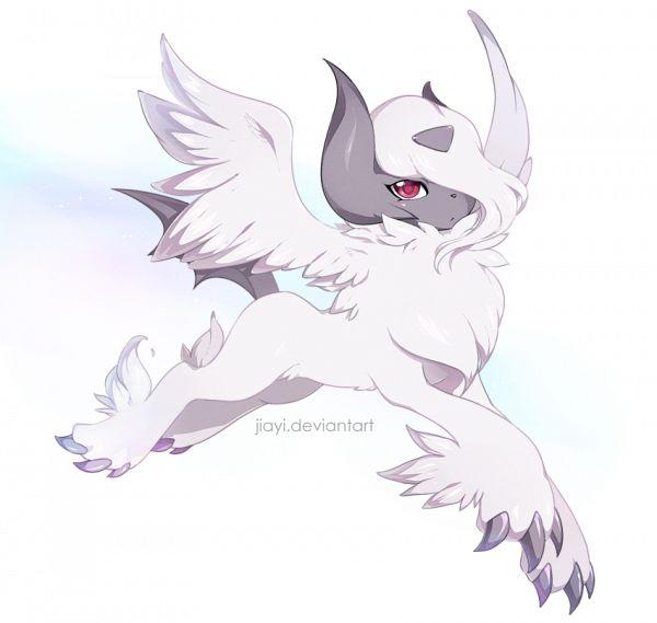 Tags: Anime, Jiayi, Pokémon, Absol, Fanart From DeviantART, Pixiv, Fanart From Pixiv, PNG Conversion, Fanart, Mega Form (Pokémon), deviantART