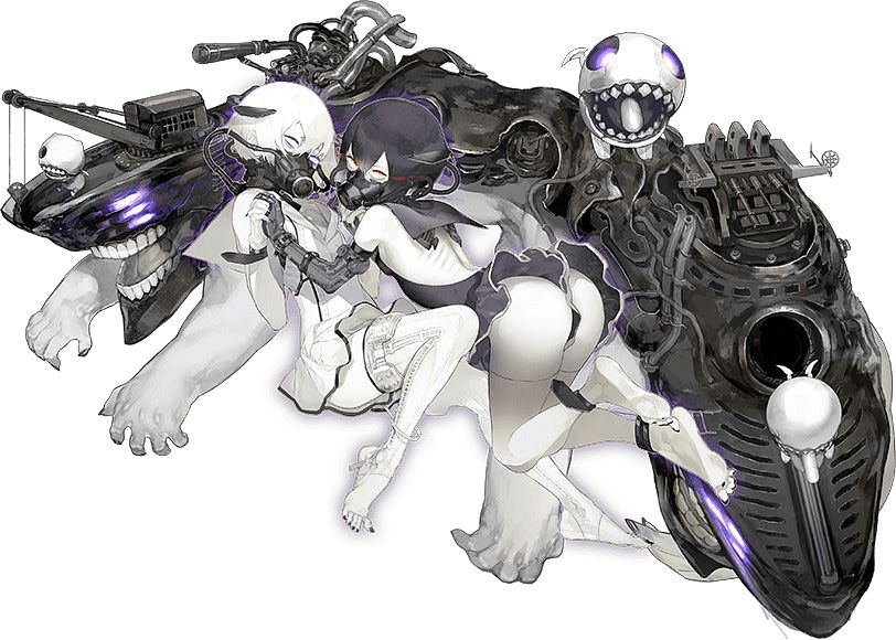 Abyssal Twin Hime (Kuro) - Kantai Collection