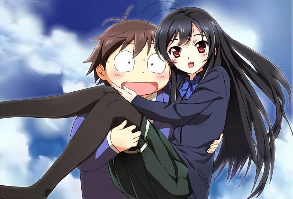 Tags: Anime, Nyoronyoro, Accel World, Arita Haruyuki, Kuroyukihime