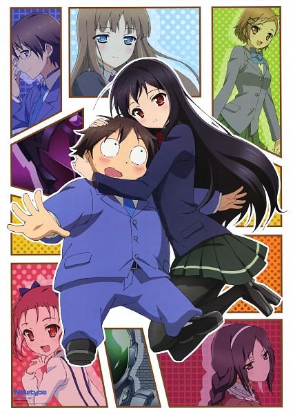 Tags: Anime, Kawai Momoko, Sunrise (Studio), Accel World, Kuroyukihime, Kakei Mihaya, Black Lotus, Arita Haruyuki, Kurasaki Fuuko, Kurashima Chiyuri, Kouzuki Yuniko, Mayuzumi Takumu, Official Art
