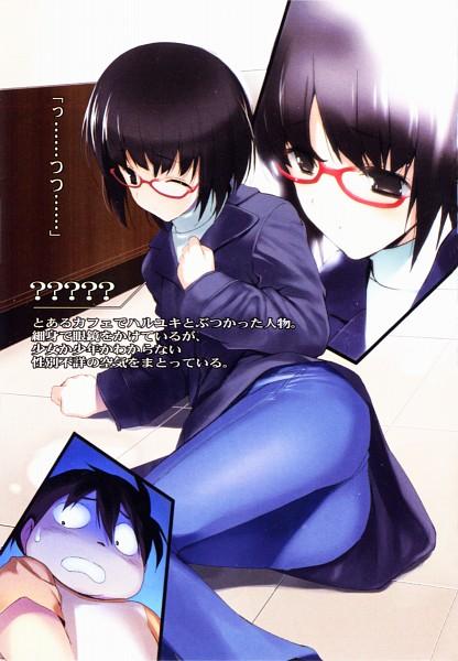 Tags: Anime, Hima (Pixiv51930), Accel World, Arita Haruyuki, Himi Akira, Novel Illustration, Official Art, Scan